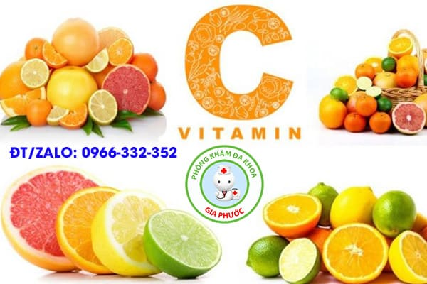 bổ sung thực phẩm giàu vitamin c