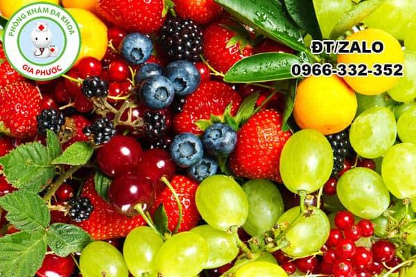 ăn nhiều trái cây phòng chống viêm nhiễm