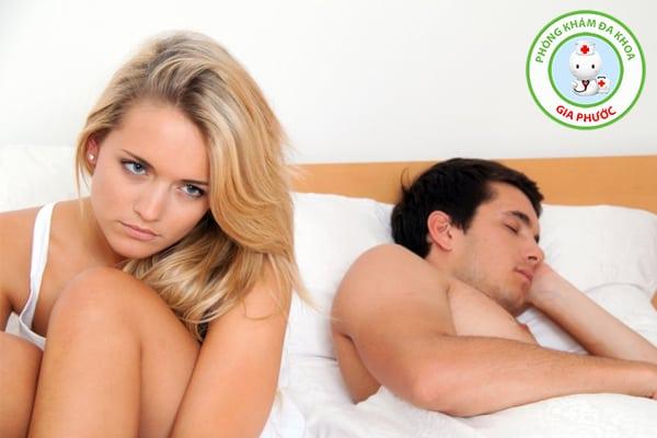 giảm ham muốn ở nam giới