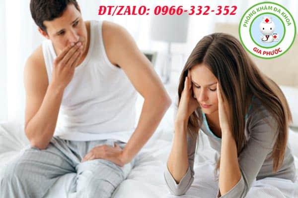 rối loạn cương dương có những tác hại gì