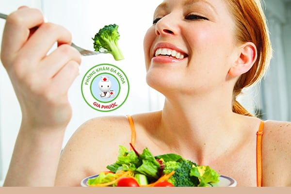 ăn nhiều rau xanh