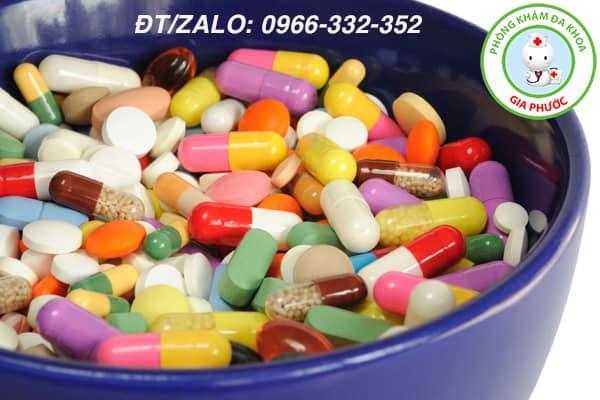dùng kháng sinh điều trị rối loạn cương dương