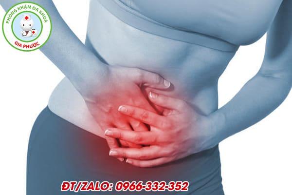 hiện tượng đau bụng dưới