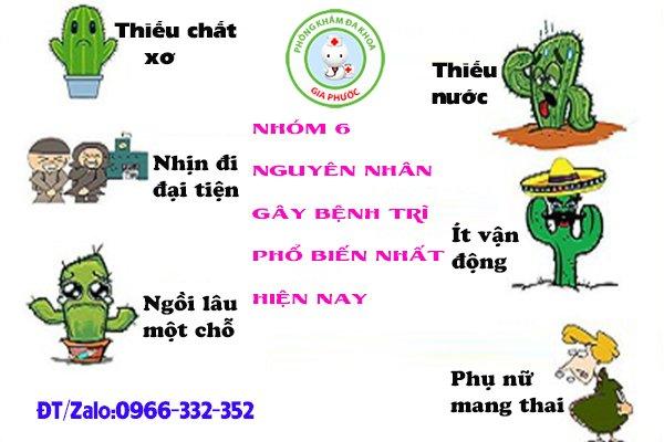 Nguyen nhan benh tri