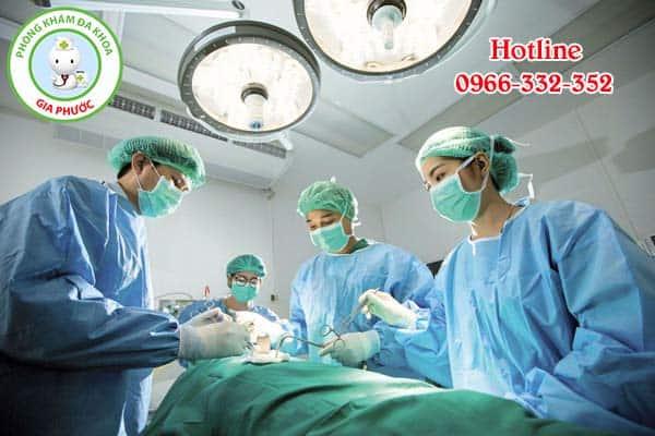 quá trình tiểu phẫu bao quy đầu