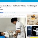 Phòng khám đa khoa Gia Phước: Tất cả vì sức khỏe người bệnh