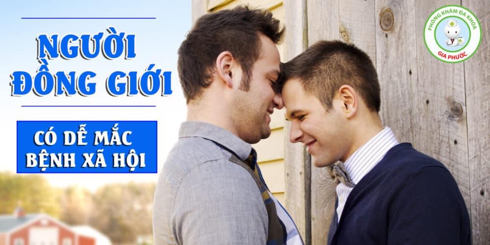 Người đồng giới mắc bệnh xã hội
