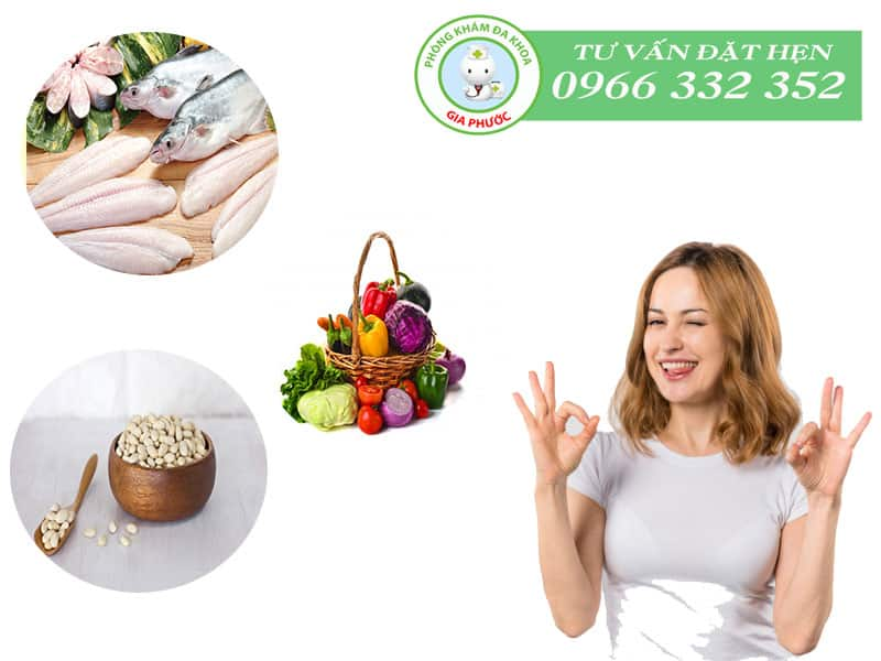 Những thực phẩm người bệnh u xơ cổ tử cung nên dùng